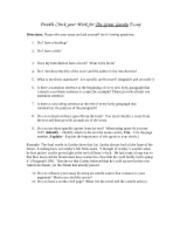 The great gatsby 7 essay
