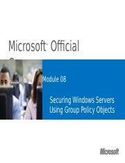 Module8 Group policy object.pptx