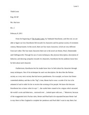 High School Entrance Essays The Scarlet Letter Essay Draft Leon  Yhalit Leon Eng Iii Ap Ms  Essays And Term Papers also Persuasive Essay Examples High School Essay On Scarlet Letter  Underfontanacountryinncom Persuasive Essay Thesis Statement