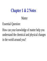 Worksheet - Classification of Matter - Key - Worksheet ...