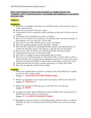 Final Exam Review Answers