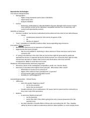 Bioethics Study Notes Final Exam
