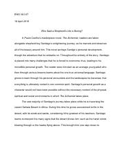 The Alchemist Essay.pdf