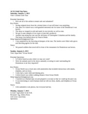 ACES Field Trip Notes_ jan 5-7 2013