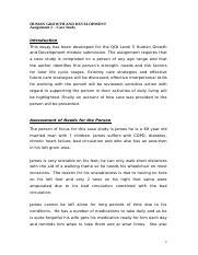 Mature student personal statement