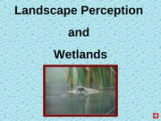 Landscape Perceptions Narrated PowerPoint