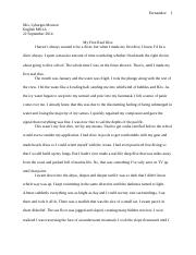 narrative 92214 essay
