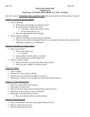 ORG 330 - Final Exam Study Guide.docx