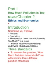 Econ 277-class notes-pollution