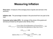 Lecture 12 Inflation and Unemployment(1)