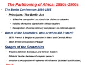 The Partitioning of Africa (Blackboard 5)(1)