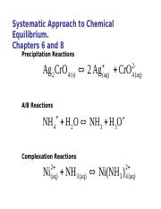 3-Systematic Approach to Chemical Equilibrium_Acid Base Chemistry.ppt