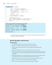 Review Questions and Exercises - Ch. 5