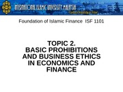 T2_Basic Prohibitions and Ethics