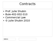 fall 2010 bule 402 contracts 2