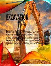 EXCAVATION+PPT