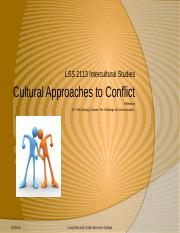 1._Cultural_Approaches_to_conflict_INPUT