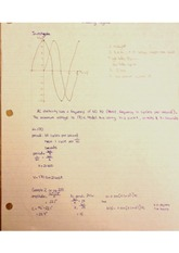 Sinusodial Functions Not Involving Angles