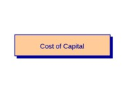 FIN+4414+-+Cost+of+Capital+-+Chapter+10-1