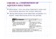 (8)Chemical composition of aqueous solution