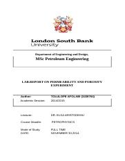 276227074-Lab-Report-for-Permeability-and-Porosity.docx