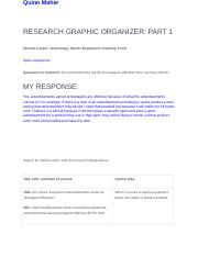 RESEARCH GRAPHIC ORGANIZER- PART 1 - Quinn Maher.docx
