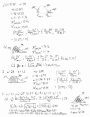 Exam 3 Review Solutions
