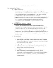 Resume SAP Fundamental Unit 1 .odt