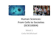 HUMAN SCIENCES MAJOR and PANDEMICS wk 1 FOR STUDENTS(1).pdf