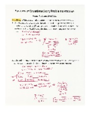 Systems of Equations Story Problems ANSWERS