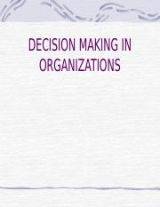 dECISION MAKING 2