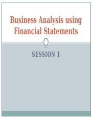 BUSINESS ANALYSIS USING FINANCIAL STATEMENTS.pptx