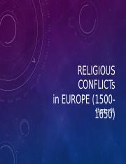 Relgious Conflicts-Protestant Reformation.ppt