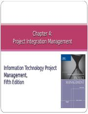 Project Integration Management.ppt