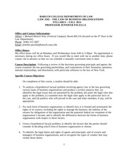 Fall 2014 Law 3102 Syllabus