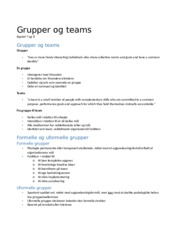 6. Grupper og teams