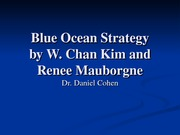 ILRHR4640 Lecture 6- Blue Ocean Strategy Article