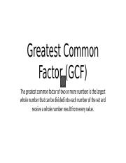 Greatest Common Factor.pptx