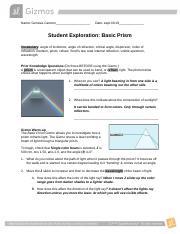 Basic Prism Gizmo - ExploreLearning.pdf - ASSESSMENT ...