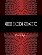 Day 6 - Applied Biological Neuroscience.pptx