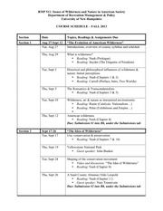 Schedule RMP 511 Fall 2013(1)