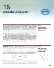 Ch 16 - Aromatic Compounds