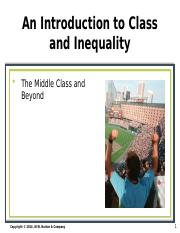 ANTH101 Class & Inequality Powerpoint.ppt