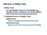 Ch12-_Definition_of_Ability_Tests