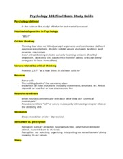 psyc 100 study guide exam 1 Study central michigan university psychology 100 flashcards and notes psy 100 - exam 1 study guide psych 100 study guide (2012-13 johnson) psy100- exam 4.