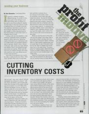 Cutting Inventory Costs