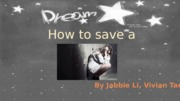 How to save a life presentation