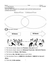 Forces Worksheet 1.doc - Name Date Period 7th Grade Science Mr ...