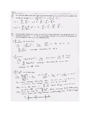 Exam B Solutions on Calculus Page 2