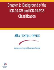 HIT 202 Handbookslides-ch1_revised2015_ICD10.ppt